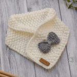 WoolAffair - Strickanleitung Baby Schal & Schleife LOOP No.34