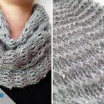 Loop-Schal stricken