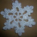 Schneeflocke häkeln - Eisblume - Eiskristall - Baumschmuck - Baumanhänger  Stern - crochet - Anfänger - YouTube