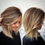 10 besten mittleren Länge blonde Frisuren schulterlanges Haar mittlerer  Länge Frisuren 2018