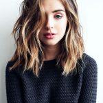 17 besten Ideen über Schulterlänge Frisuren auf Pinterest | Schulterlange  Haare Schulterlange Haarschnitte und lange Frisuren