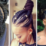 Schwarze Frauen attraktive   Frisuren machen Sie wunderschön