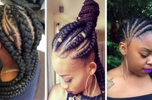 2019 Ghana Zöpfe Frisuren für schwarze Frauen » Frisuren 2019 Neue