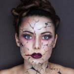sexy halloween make up ideas - doll face