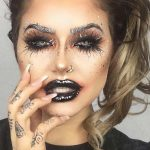 Sexy Halloween Makeup Looks That Are Creepy Yet Cute ☆ See more: http:/