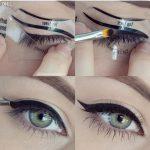 Großhandel Großhandels Perfect Cat Eye Smokey Augen Make Up Eyeliner  Modelle Vorlage Top Bottom Eyeliner Karte Hilfswerkzeuge Augenbrauen  Schablonen Von
