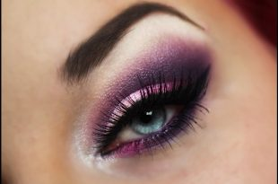 Violet/Lila Make-up Tutorial / Smokey Eyes / Super einfache Schmink  Anleitung