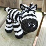 kreative Spielzeuge häkeln - ein tolles Zebra | Häkeln | Pinterest