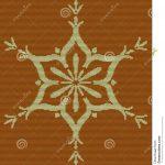 Strickendes aufwändiges dekoratives Symbol des Musters Strickjacken-Design  wollen