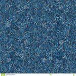 Weihnachtsstrickjacken-Design Nahtloses blaues strickendes Muster