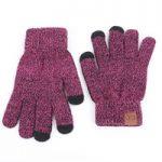 strickhandschuhe frauen großhandel-2018 CC Marke Hohe Qualität  Strickhandschuhe Mann Frau Warme Handschuhe Plus Samt