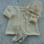 Babyjacke Babystrickjacke Babywolljacke Jacke für Babys