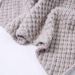 DIY-Anleitung: Babydecke mit Sternchenmuster selber stricken via