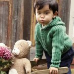 DIY-Anleitung: Kapuzenjacke für Kinder stricken via DaWanda.com