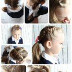 Einzigartige süße Frisur für die Schule | Nette Frisuren | Pinterest | Hair  styles, Easy Hairstyles und Girl hairstyles