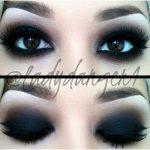 Dark make up Goth makeup Make Up Augen, Frisuren, Geschminkte Augen, Stil,