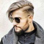 unterschnittene Frisur für Männer