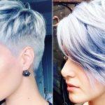 Verschiedene Frisuren Für Frauen 2019 Frisuren 2018 2019 Oder 2019  Kurzhaarfrisuren Frauen #Frisurentrends
