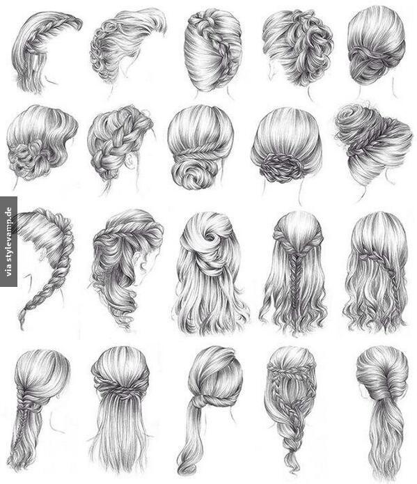 Tipps für die Annahme   verschiedener Frisuren