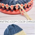 How to Change Colors on a Knitting Loom | overige - Stricken, Häkeln en  Stricken und Häkeln