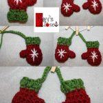 Handschuh Nähen Weihnachten, Basteln Weihnachten, Maus Häkeln, Stricken Und  Häkeln, Häkeln Winter