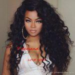 Großhandel Schwarze Lange Lockige Perücke Lockiges Haar Haarteile Frauen  Hitzebeständige Synthetische Perücken Für Schwarze Frauen, Schwarze Haare Y