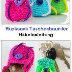 Rucksack Taschenbaumler - Häkelanleitung