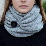 Сегодня мы поговорим о шарфе, его видах, узо