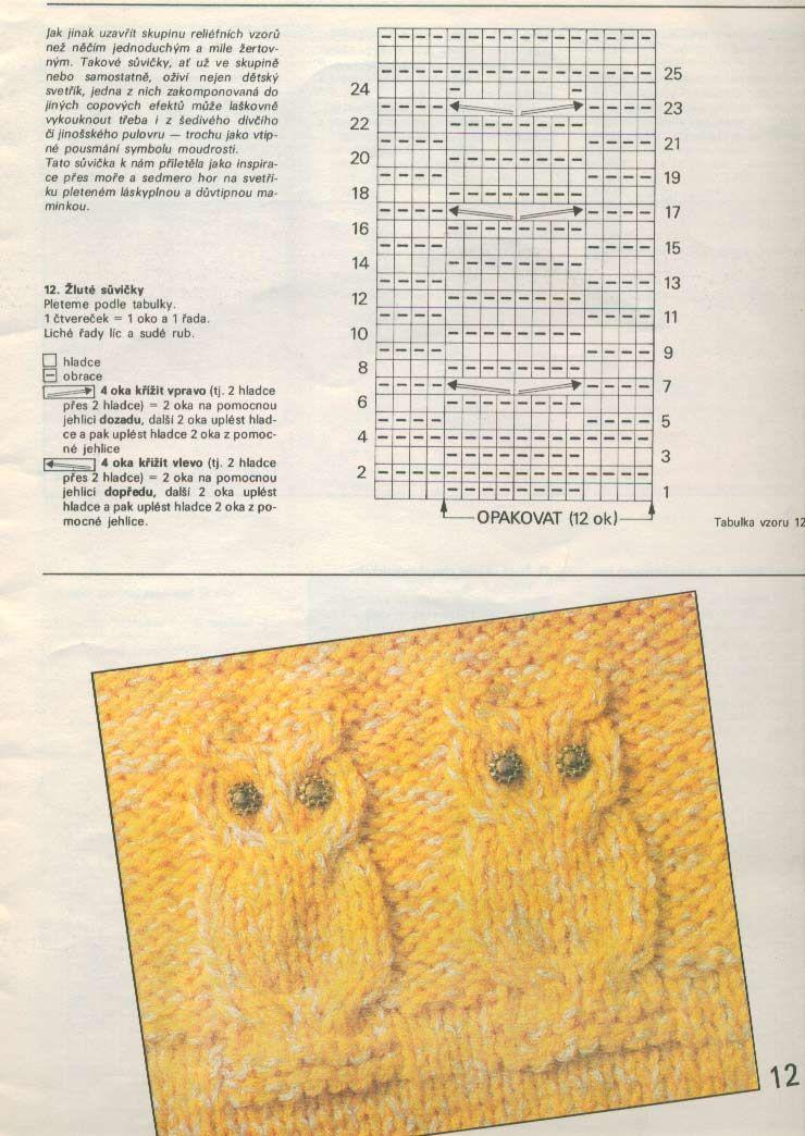 Совиный свитер