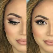 ▷ 75 Inspirational Evening Make Up Suggestions for Stylish Ladies- ▷ 75 insp…