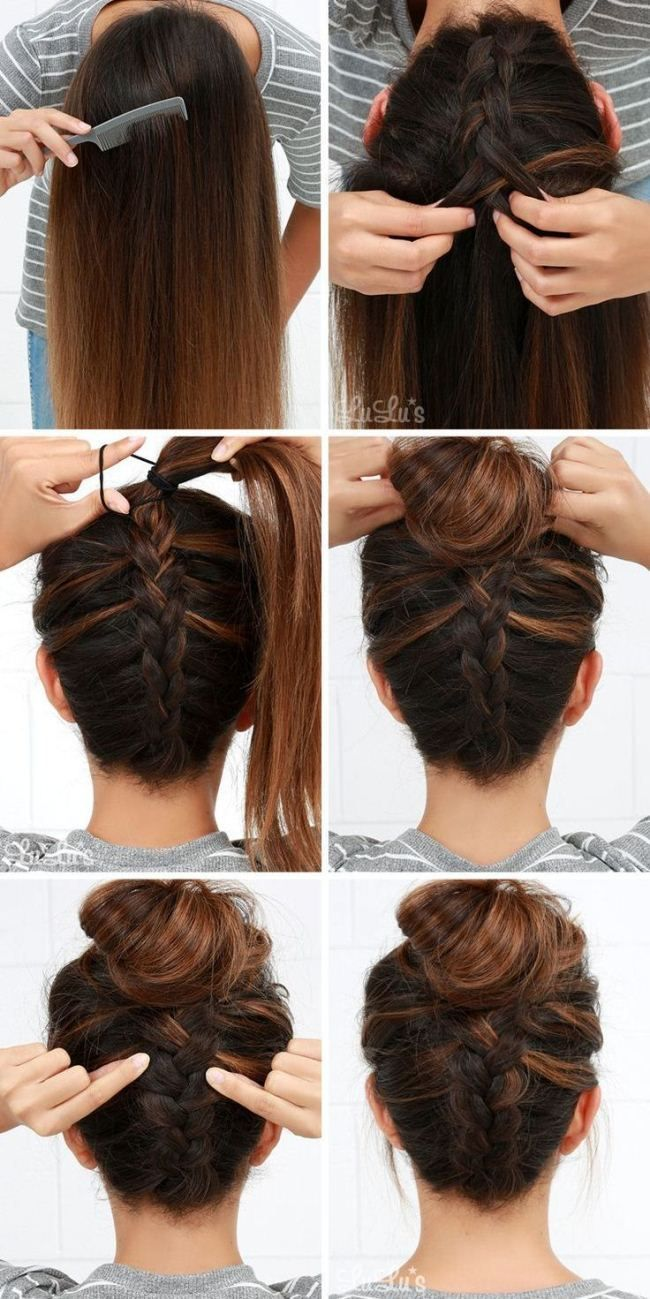 ▷ Easy Updos for Long Hair Step by Step Home in English 2018 …