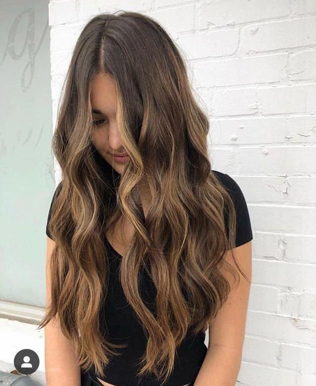 ✰ I N S T A G R A M @EmilyMohsie ✰ #haircolorbalayage #brownhairbalayage