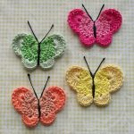 10 Knit or Crochet Butterfly Designs You Must Not Miss!