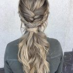 10 Ultra Ponytail Braided Hairstyles for Long Hair; Parties 2020