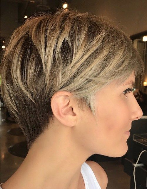 100 short-term short hairstyles for fine hair – #hairstyles #short – #new