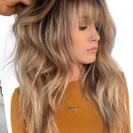 12 Best Long Balayage Hairstyles with Bangs in 2019 | Absurd Styles