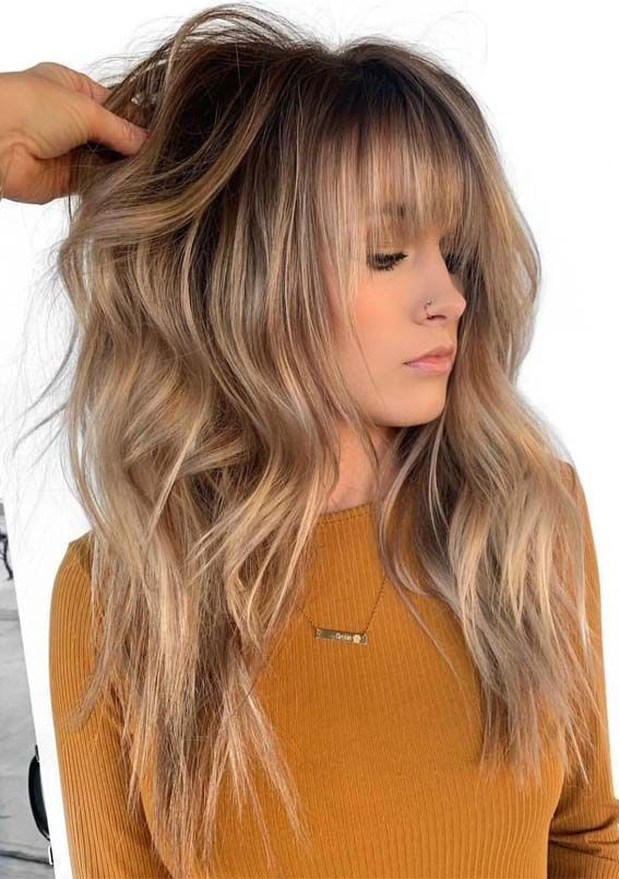 12 best long balayage hairstyles with pony in 2019 – #balayage #hairstyles – #Ne…
