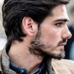 13.Medium Haircut for Guys, #haircut #medium #menshairstyles,#casual #outfits #m...