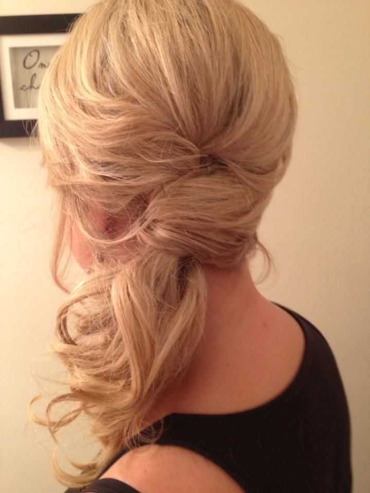 15 Hot Side-Ponytail Hairstyles: Romantic, Sleek, Sexy& Casual Looks for Long Hair – PoPular Haircuts