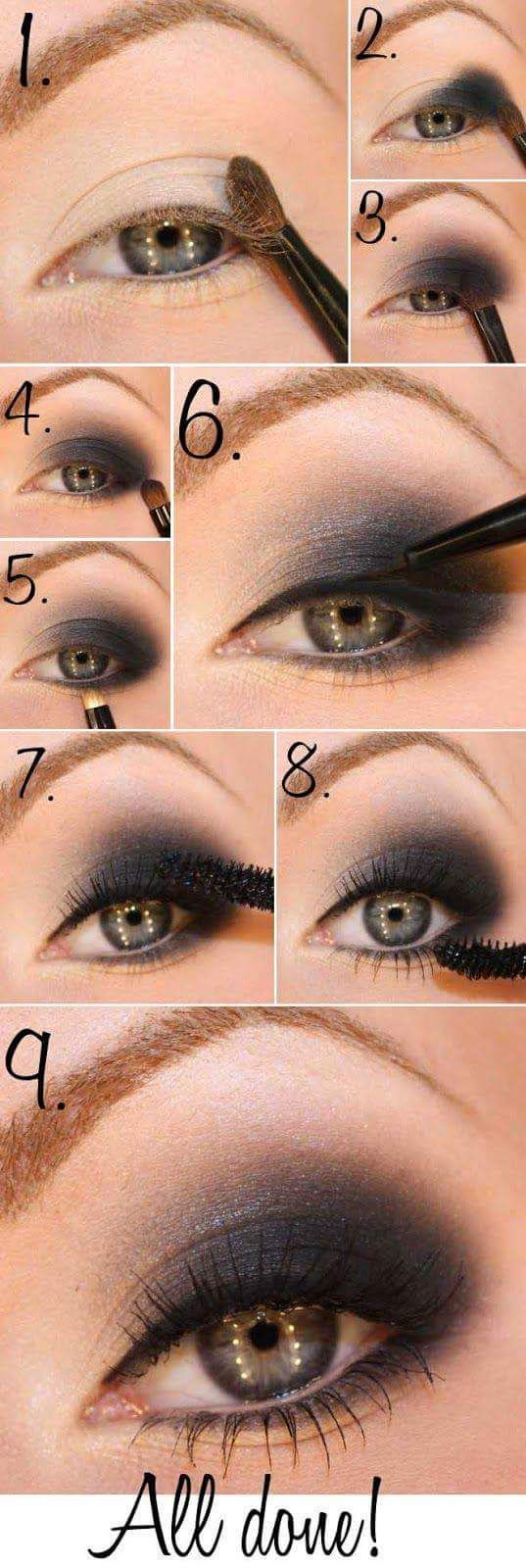 15 Smokey Eye Tutorials – Step by Step Guide to Perfect Hollywood Makeup