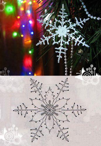 15 crochet snowflakes patterns- free patterns – Turcoaz cu Vanilie – Alaskacro…