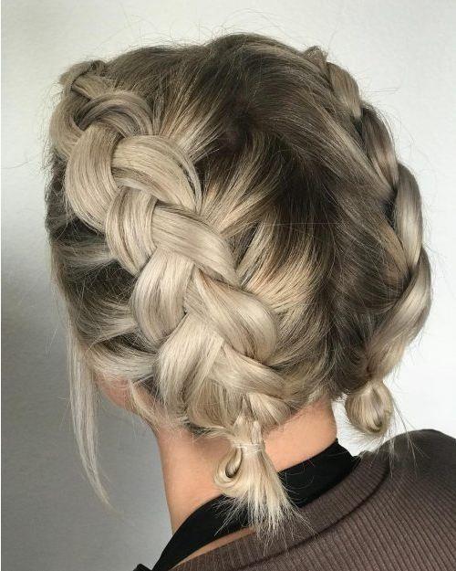 15 einfachste und süßeste Zöpfe für kurze Haar