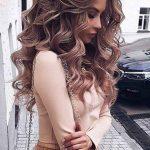 11 so perfekte lockige Frisuren für lange Haare Ideen