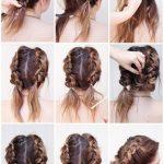 170 Einfache Frisuren Schritt für Schritt Durch das Haarstyling können Sie sich von ...  #