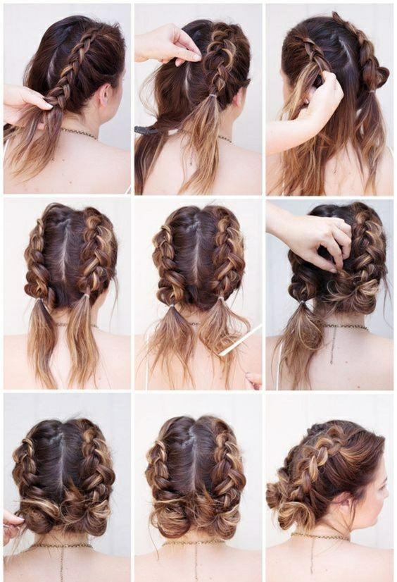 170 Einfache Frisuren Schritt für Schritt Durch das Haarstyling können Sie sich von …  #