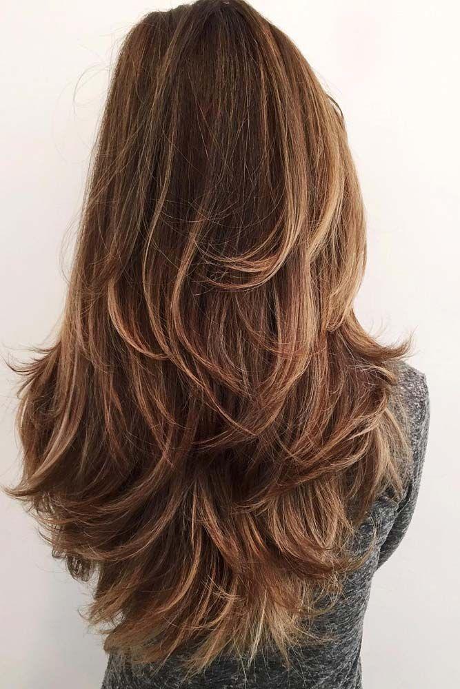 Haarschnitt langes Haar