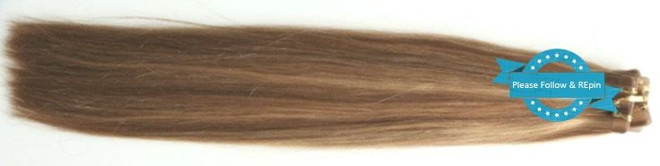 OVERSTOCK 6A Europäische Remy Tape-In Haut Schuss Haarverlängerungen HIGHLITED COLORS by …,…