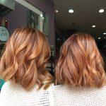 Natürliche rote Haarfarbe