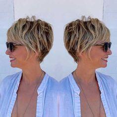 2017 Best Short Haircuts for Older Women