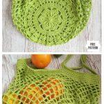 Crochet Sakura Market Bag Free Crochet Pattern